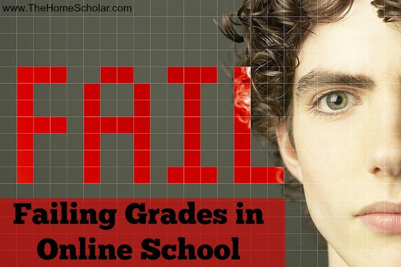 Failing Grades in Online School