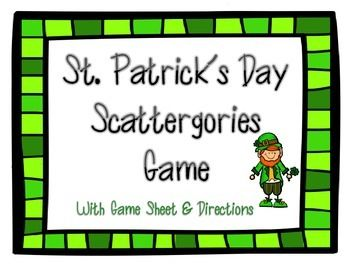 St Patricks day activities for the big and small