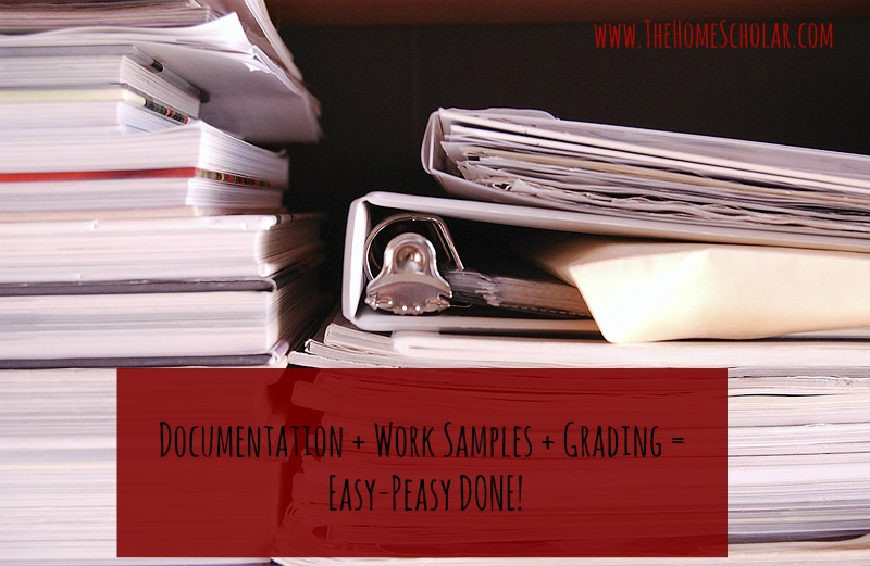 Documentation + Work Samples + Grading = Easy-Peasy DONE!
