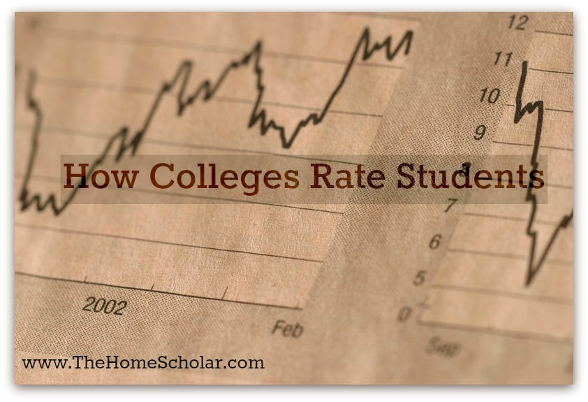 How Colleges Rate Students