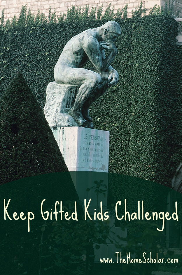 Keep Gifted Kids Challenged
