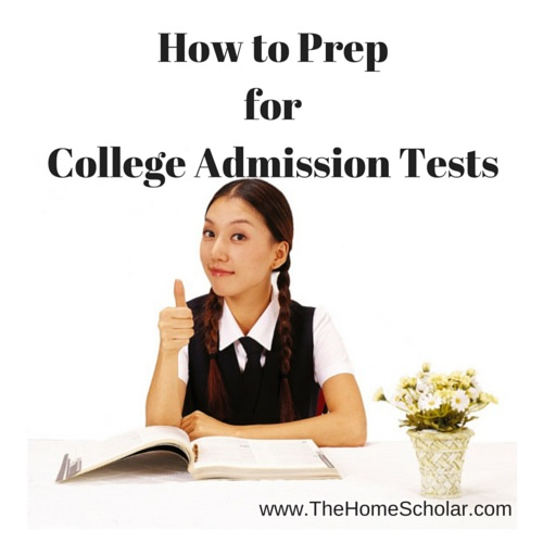 How to Prep for College Admission Tests
