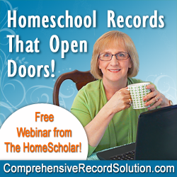 #Homeschool Records That Opens Doors @The HomeScholar
