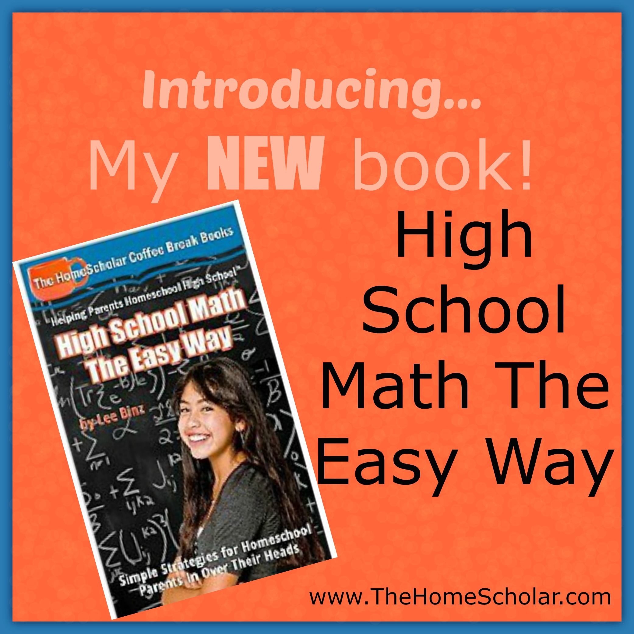 Dry Your Tears! Help for Teaching High School Math is Here!