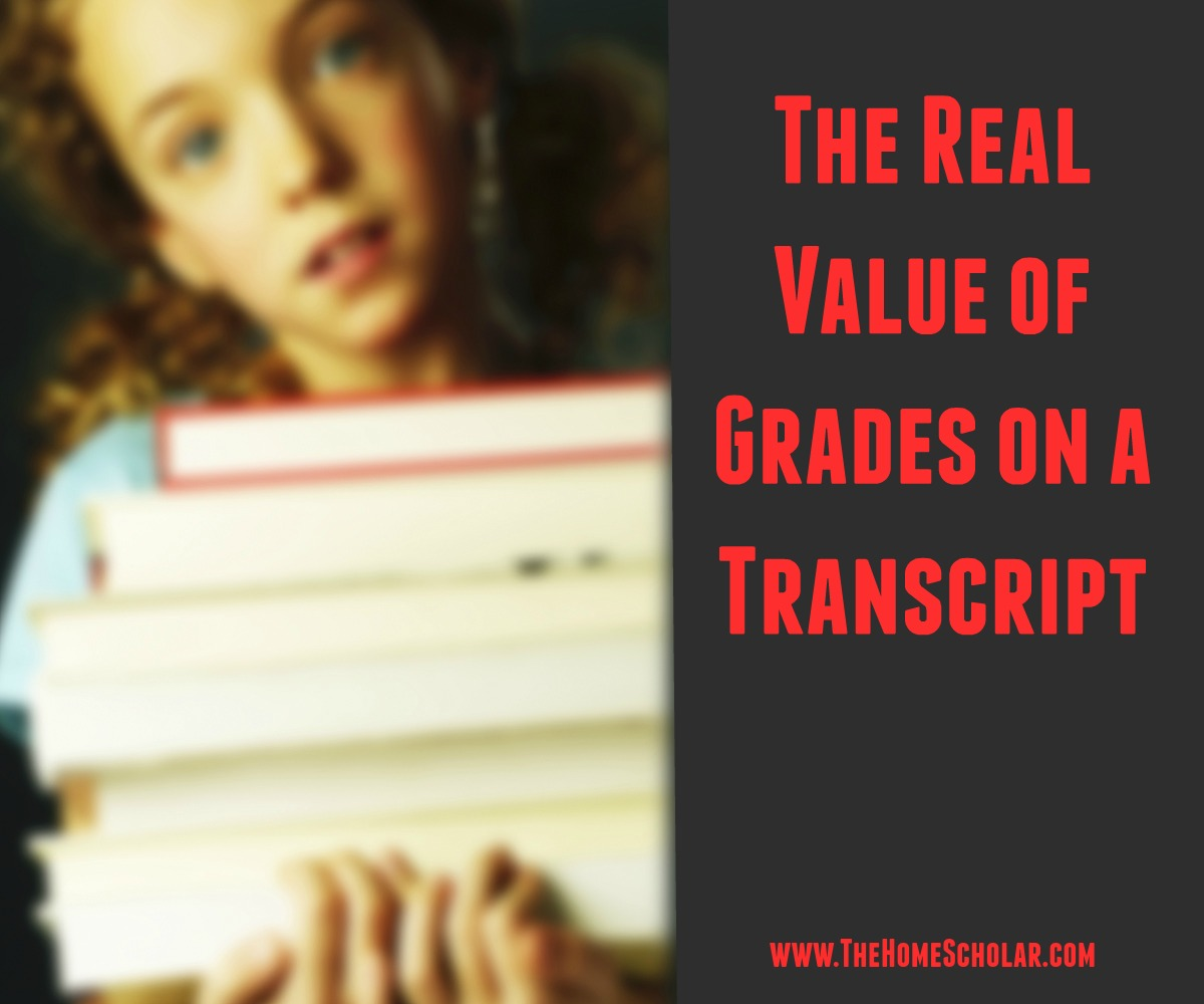 The Real Value of Grades on a Transcript