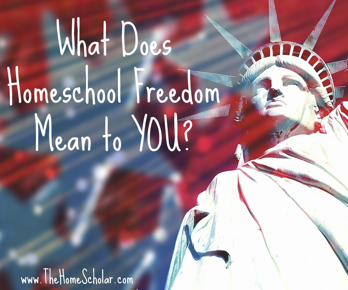What Does Homeschool Freedom Mean to YOU?