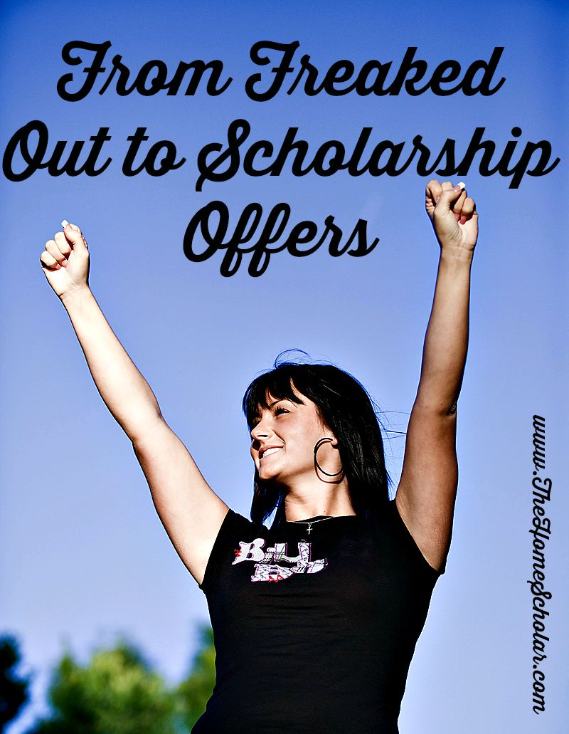 #From Freaked out to Scholarships @TheHomeScholar