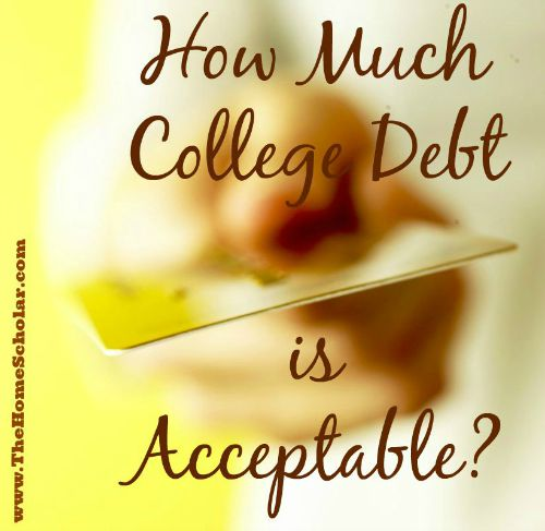 How Much College Debt is Acceptable?