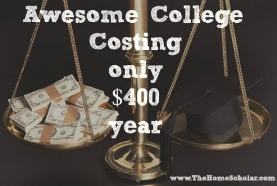 Awesome College Costing Only $400 Year