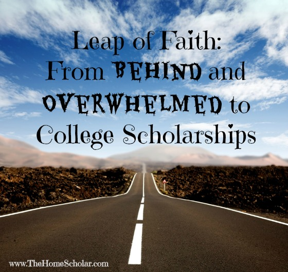 Leap of Faith: From Behind and Overwhelmed to College Scholarships