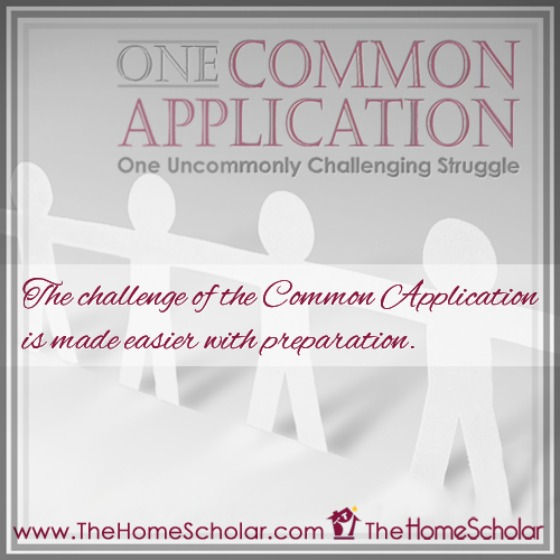 Common Application Homeschool FAQ Infographic