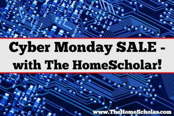 Cyber Monday @TheHomeScholar