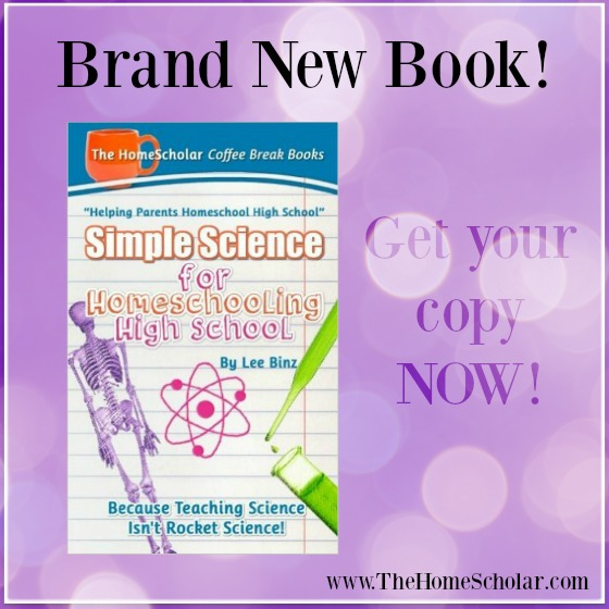 BRAND NEW book, Simple Science for Homeschooling High School