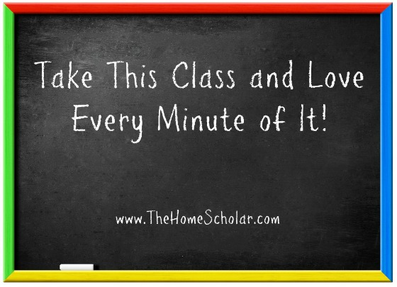 Take This Class and Love Every Minute of It!