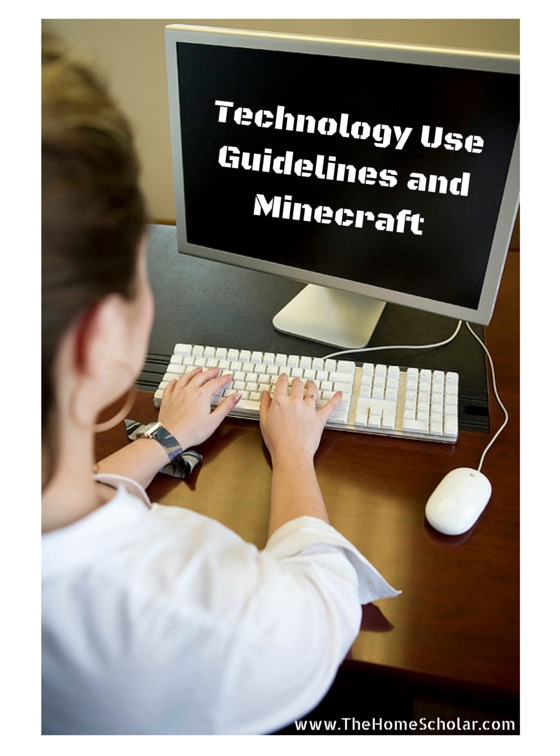 Technology Use Guidelines and Minecraft