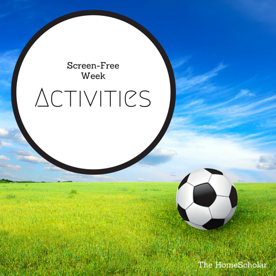 Screen-Free Week Activities
