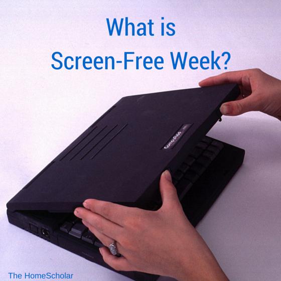 what is screen-free week