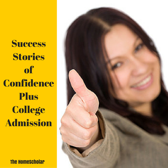 Success Stories of Confidence Plus College Admission