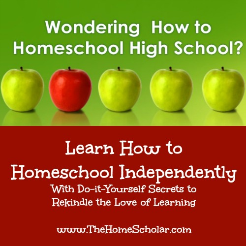 Wondering How to Homeschool High School?