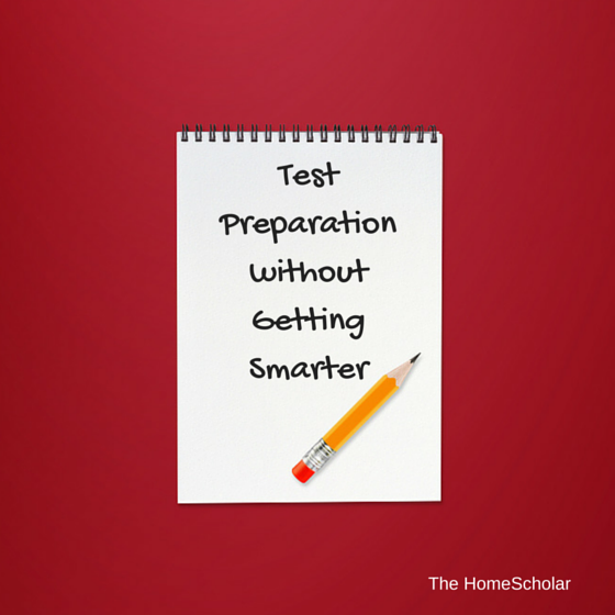 Test Preparation without Getting Smarter