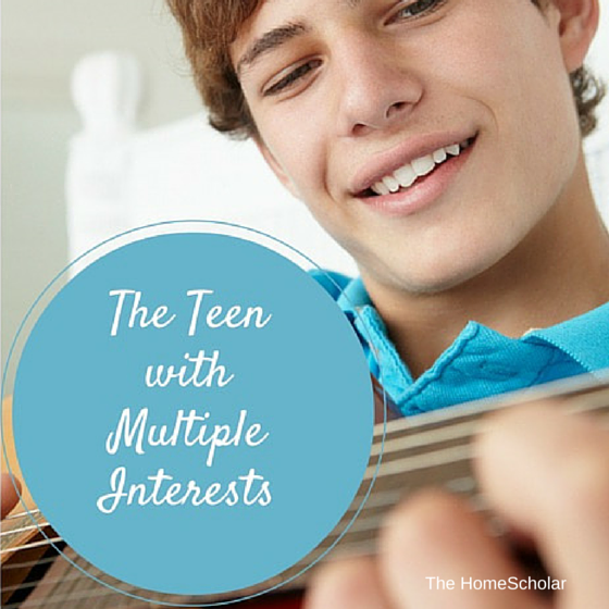 The Teen with Multiple Interests