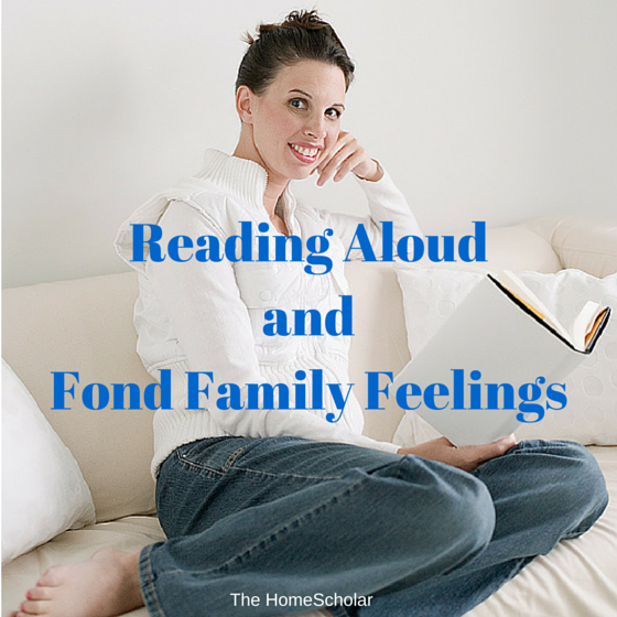 Reading Aloud and Fond Family Feelings