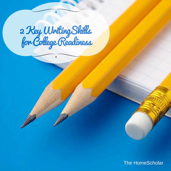 2 Key Writing Skills for College Readiness
