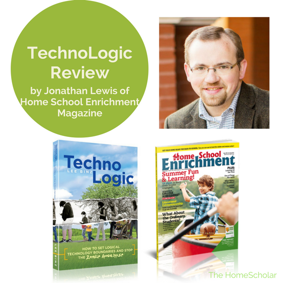 TechnoLogic Review by Jonathan Lewis of Home School Enrichment Magazine