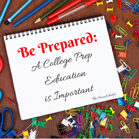 Be Prepared: A College Prep Education is Important