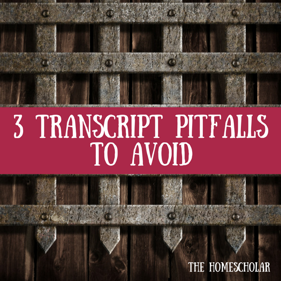 transcript pitfalls to avoid