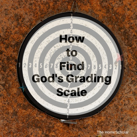 How to Find God's Grading Scale